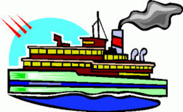 Boat clipart steam boat Online Clker at as: com