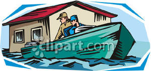 Places clipart flooded #13