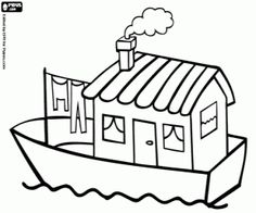 Boat House clipart Of Boat Clip a House