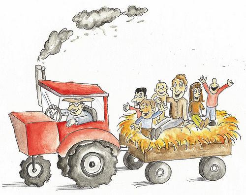 Cart clipart food shop Annual 12th Hayride  Boathouse