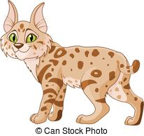 Bobcat clipart Clip  Bobcat Illustrations Art