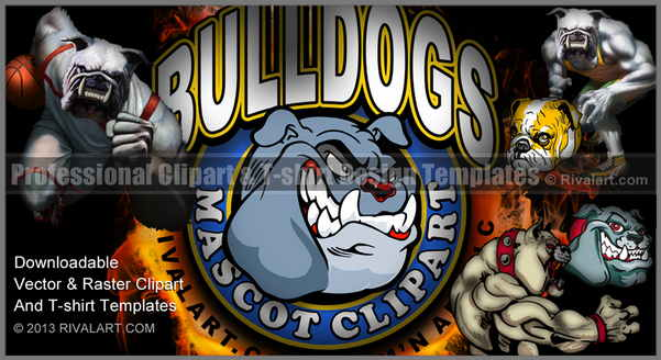 Bobcat clipart bulldog Bulldog Clipart Bulldog on Rivalart
