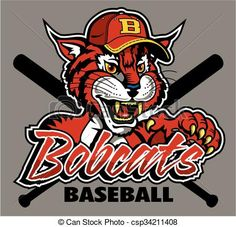 Bobcat clipart bulldog Baseball Clipart baseball for bobcats