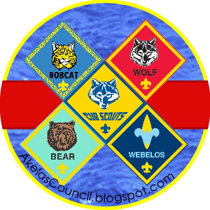 Bobcat clipart cub scout  Webelos Cap Bottle Bobcat