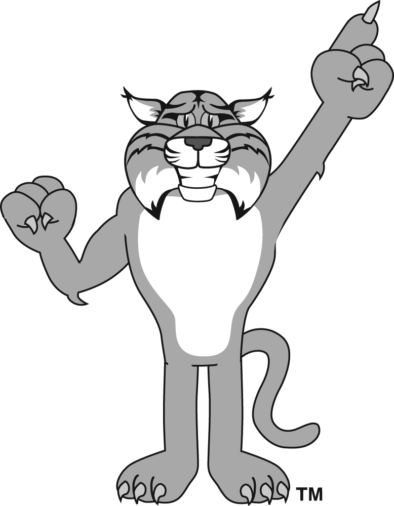 Bobcat clipart cute cartoon Bobcat Graphics bobcat Clipart Bobcat