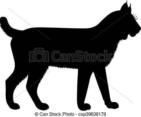 Bobcat clipart lynx Shade bobcat of csp39638178 Lynx