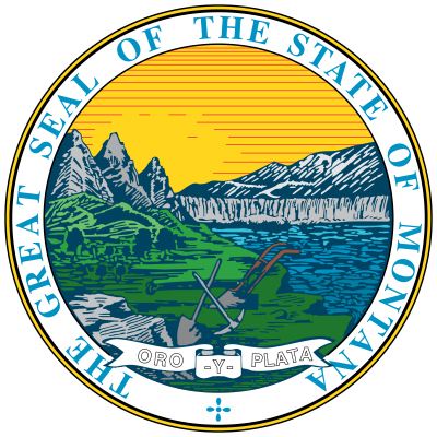 Bobcat clipart montana state Com United Seal geography States