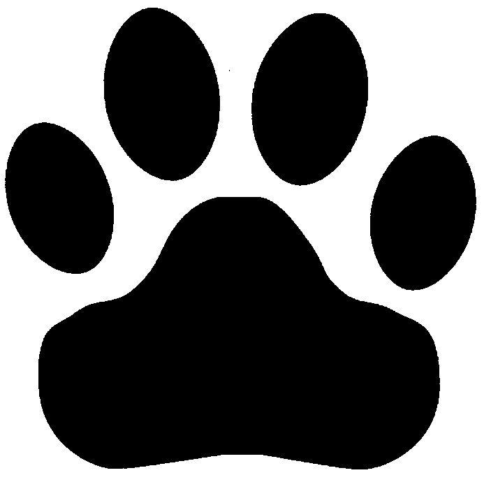 Tiger Print clipart tiger paw #12