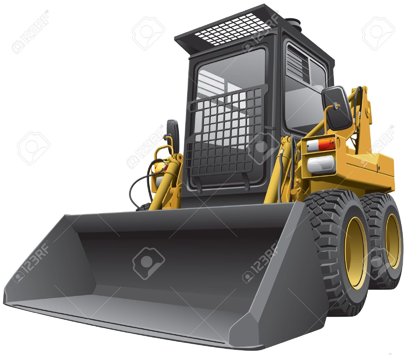 Bobcat clipart lion's Loader Skid Loader Rental Images