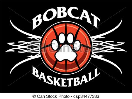 Bobcat clipart lion's With  tribal design net