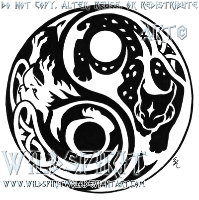 Bobcat clipart tribal WildSpiritWolf on DeviantArt And by