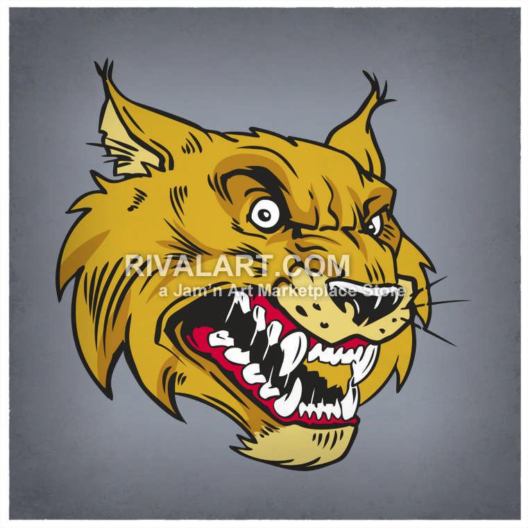 Bobcat clipart vicious Head Head Vicious Vicious Color