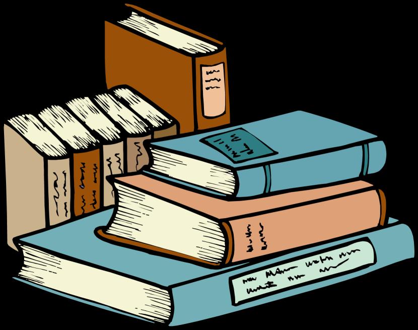 Bobook clipart piled Amazing clipart clipart books books
