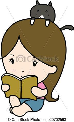 Bobook clipart small Reading reading book small a