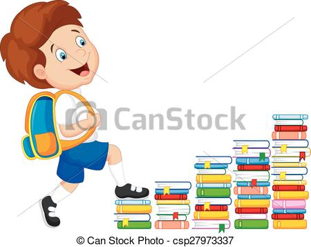 Bobook clipart staircase Free Child illustration of climbing