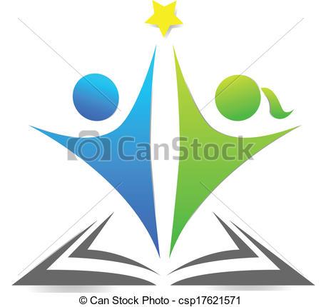 Bobook clipart symbol Vectors  Book graphic csp17621571