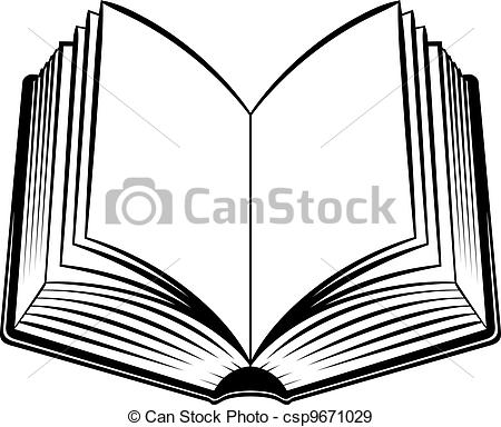 Bobook clipart symbol And open%20book%20clipart%20black%20and%20white Clip Black