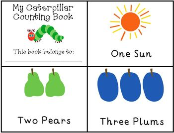 Bobook clipart the very hungry caterpillar And The Activities Hungry Counting