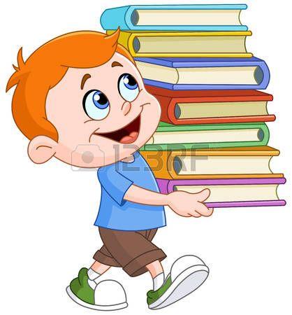 Bocah clipart child study Lleva joven LIN IMAGENES best