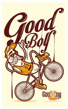 Bocah clipart good boy By Behance Good Harley Series