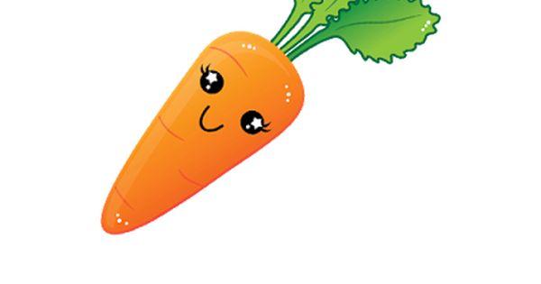 Carrot clipart vege Buah clipart Buah A lucu