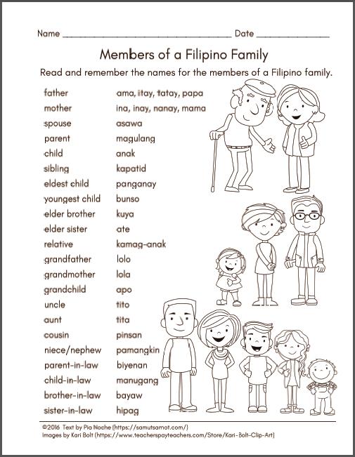 Phillipines clipart pang uri #13