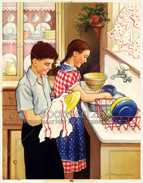 Philipines clipart gawaing bahay Images the Washing 25 Dishes
