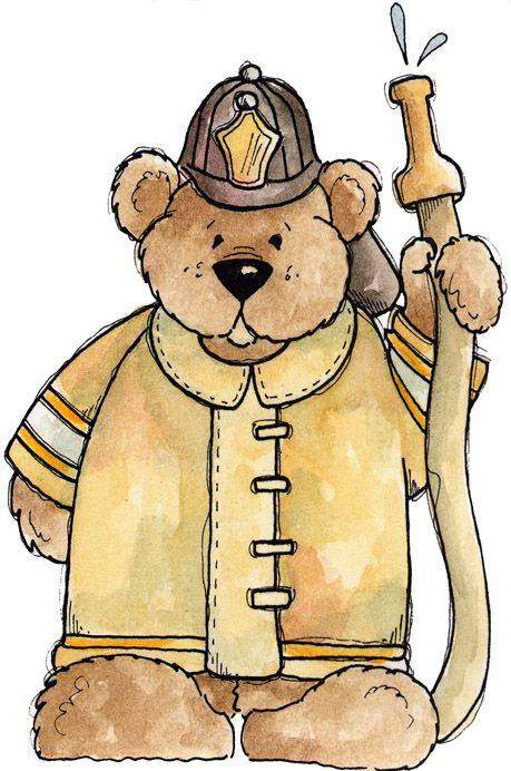 Bear clipart firefighter Pinterest Clip 127 best images