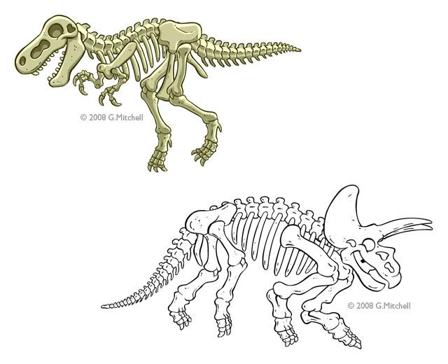Drawn bones Clipart Bones Free  Image