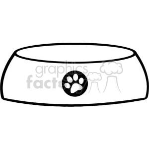 Bones clipart dog dish  Free 384540 Royalty Safe
