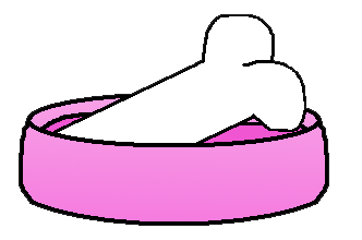 Bones clipart dog dish The Graphics HERE Dogs by