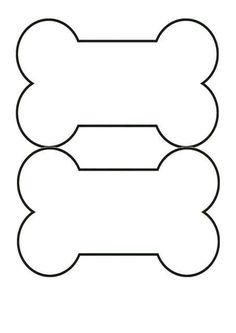 Bones clipart hueso Clip Coloring Clip Page Paw