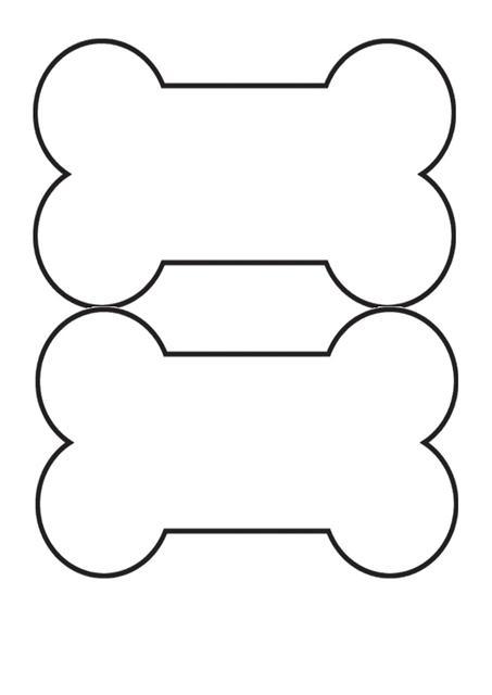 Drawn bones Dog  Printable · bones