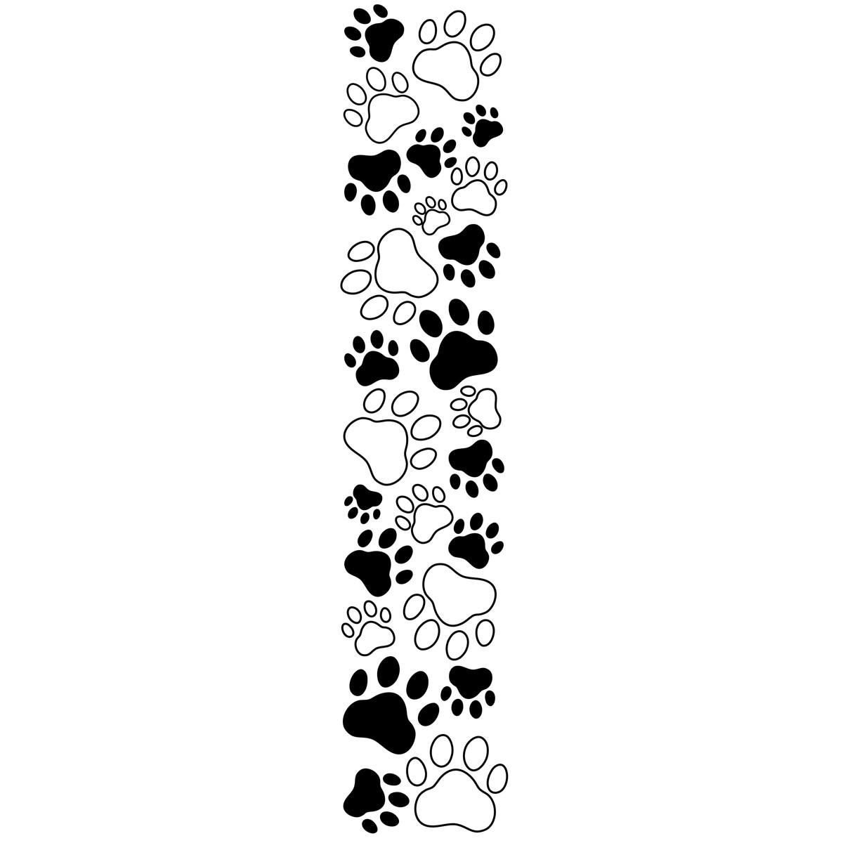 Bones clipart paw print Paw Images Info Free Print