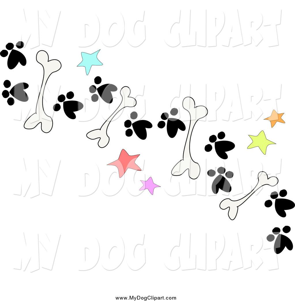 Bones clipart paw print Bones Ground Dog of on