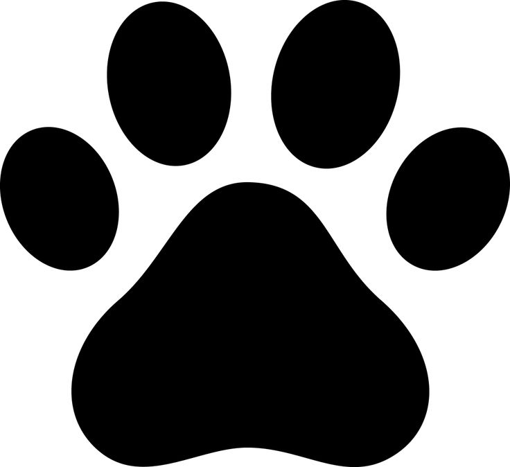Bones clipart paw print Guide use paw use Cupcakes