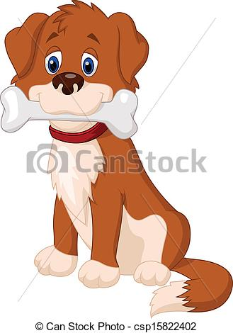 Bones clipart pet Bone Clipart Dog Vector illustration