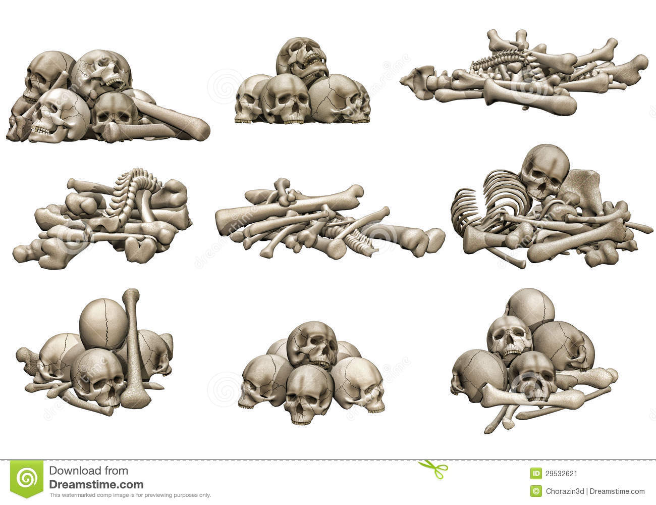 Bones clipart pile bone Pile Of Of Download Bones