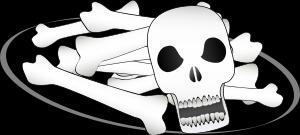 Bones clipart pile bone And Bones Skull and Bones
