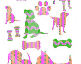 Bones clipart pink Clipart 4 dog bones 6