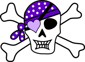 Bones clipart pirate Bones Art Art Pirate Clip