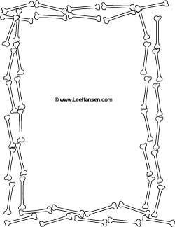 Bones clipart skelton Skeletons sheet Skeleton Pinterest printable