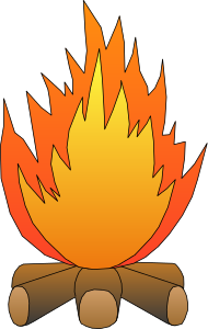 Outdoor clipart bonfire Clipart Free Cartoon Images Bonfire
