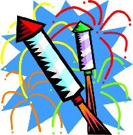 Drawn fireworks Party Clipart Party Bonfire Firework