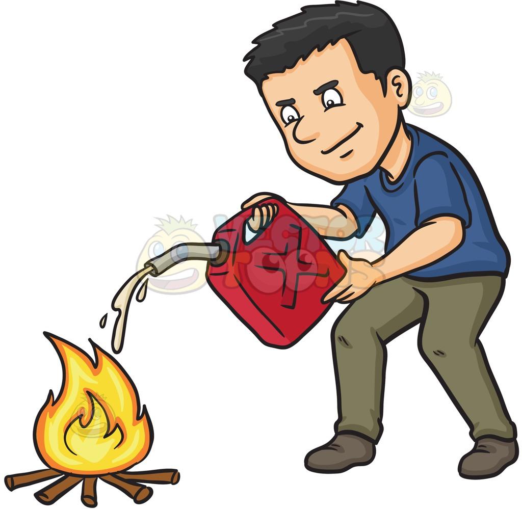Bonfire clipart fir Cartoon  Fire To Fuel