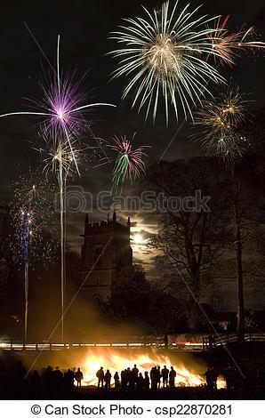 Bonfire clipart fireworks display Display Display and Night Bonfire
