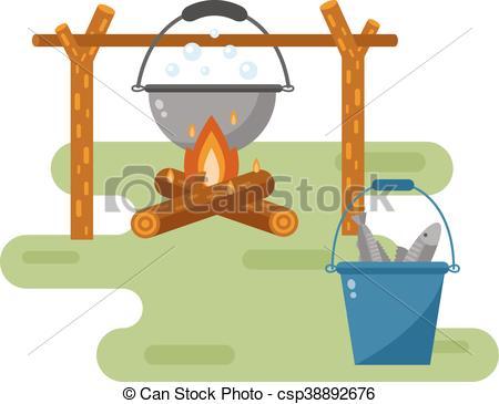 Warmth clipart bonfire Can Art jpg Vector Instant