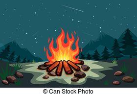 Bonfire clipart winter Illustration Bonfire bonfire Illustration Winter