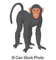 Bonobo clipart Icon  Clip and monkey