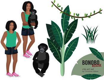 Bonobo clipart Images Bonobo / Illustrations Rescue